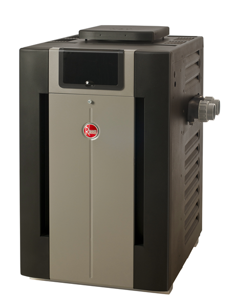 Rheem / Raypak 266,000 BTU Electronic Natural Gas Heater for Swimming Pools