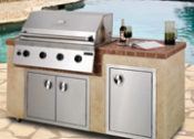 6' South Beach Complete Outdoor Kitchen - No One Beats Our Price!