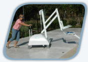 BEST PRICE on SR Smith PAL Portable Aquatic Pool Lift System for ADA Compliance - Americans with Disabilities Act
