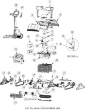 Parts Diagram - Maytronics Supreme M500