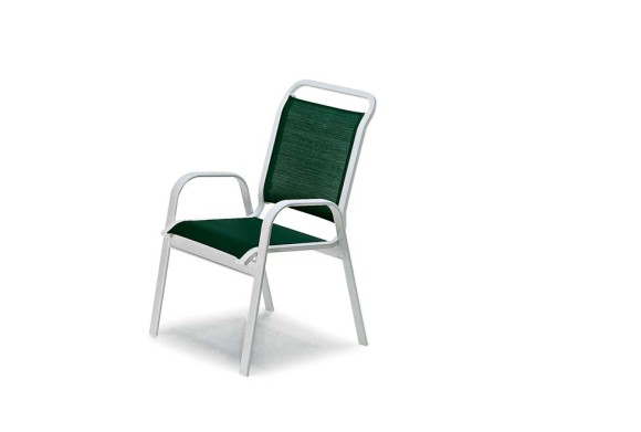 Telescope Vanese Sling Stacking Arm Chair
