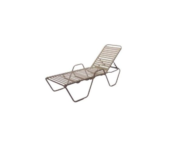 Country Club Chaise Lounge - with Arms