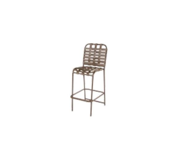 Country Club Bar Chair - Cross Weave