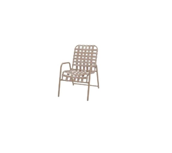 Neptune Dining Chair - Cross Weave