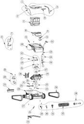 Parts Diagram - Maytronics Active 10
