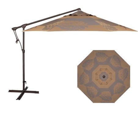 Treasure Garden AG19 10' Octagon Cantilever Umbrella