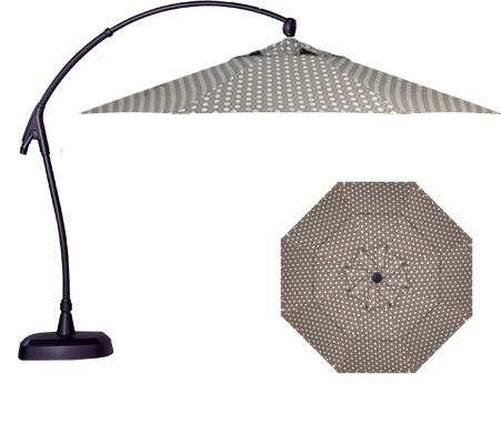 Treasure Garden AG28 11' Octagon Cantilever Umbrella