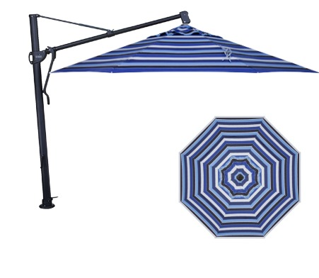 Treasure Garden AKZ13 13' Octagon Cantilever Umbrella
