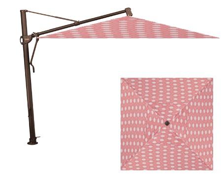Treasure Garden AKZSQ 10' Square Cantilever Umbrella