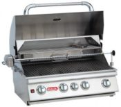 """Bull BBQ 30"""" Angus Outdoor Drop In Grill with Lights"""