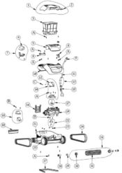 Parts Diagrams - Maytronics Dolphin Cayman