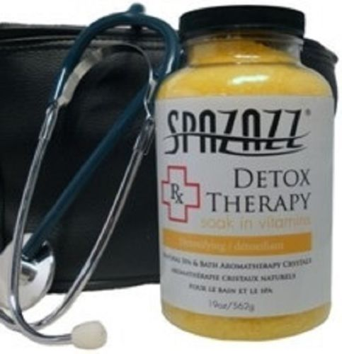 Spazazz Spa Hot Tub Bath Fragrance 19 oz - Detox Therapy Rx