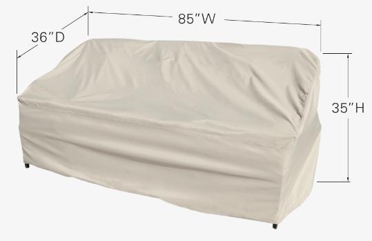 Treasure Garden Protective Furniture Cover CP598 Dimensions