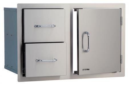 Bull BBQ Door/Double Drawer Combo