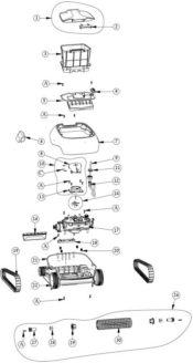 Parts Diagram - Maytronics Echo