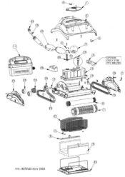 Parts Diagram - Maytronics Dolphin Endeavor