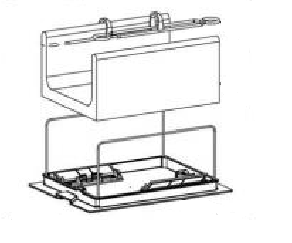 Pentair Kreepy Krauly Prowler 830 - 370454B Filter Bag Conversion Kit