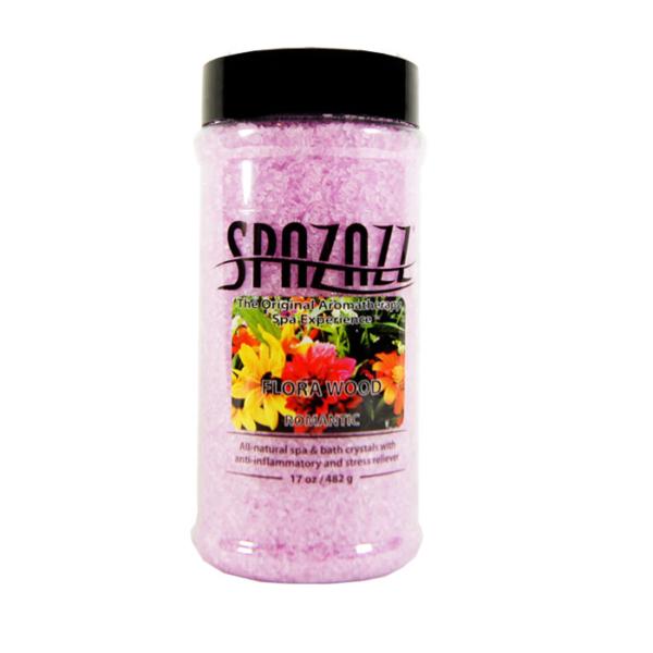 Spazazz Spa Hot Tub Bath Fragrance 17 oz - Florawood