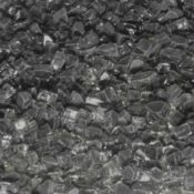 """1/4"""" Black Fire Pit or Fireplace Glass - 10 lbs"""