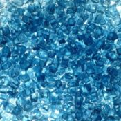"1/4"" Blue Fire Pit or Fireplace Glass - 10 lbs"