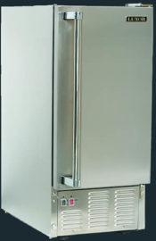 Luxor Stainless Steel Outdoor Icemaker