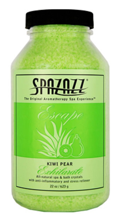 Spazazz Spa Hot Tub Bath Fragrance 22 oz - Kiwi Pear