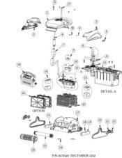 Parts Diagram - Maytronics Dolphin Supreme M200