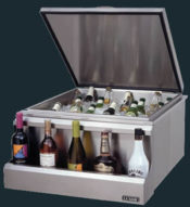 "Luxor Party Chill Master Stainless Steel Ice Chest - Built In - 24""  (30"" & 42"" Also Available)"