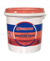 Maxibrom 10 lb Brominating Tablets