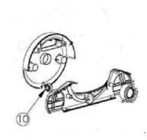 Maytronics Dolphin 9991085-ASSY Wheel