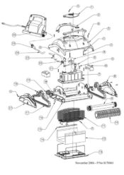 Parts Diagram - Maytronics Dolphin Orion 99996301