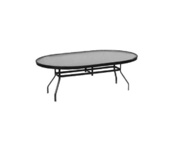 "36"" x 54"" Oval Balcony Table"