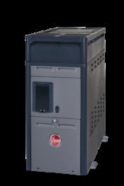 Rheem / Raypak 156 150,000 BTU Digital Natural Gas Heater for Swimming Pools or Spas