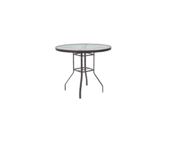 "42"" Round Balcony Table"