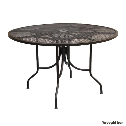 "48"" Square Micro Mesh Dining Table"
