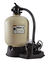 """Pentair Sand Dollar System 19"""" Filter and 1 1/2 HP Pump for Above Ground Pools"""