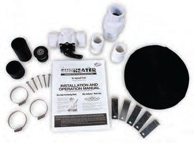 SunHeater SK21 System Kit for S601P Solar Panel