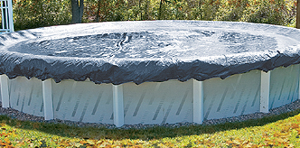 30' Round Above Ground Pool Winter Cover - 8 year warranty