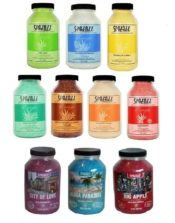 Spazazz Spa Hot Tub Bath Fragrance 5 Bottles - Your Choice of Scent! 22 oz ea