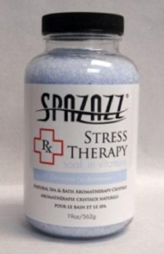 Spazazz Spa Hot Tub Bath Fragrance 19 oz - Stress Therapy Rx