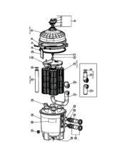 Hayward SwimClear Filter - Parts Diagram