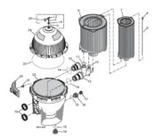 Pentair System 3 Filter - Parts Diagram