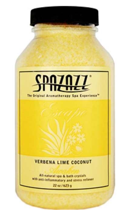 Spazazz Spa Hot Tub Bath Fragrance 22 oz - Verbena Lime Coconut